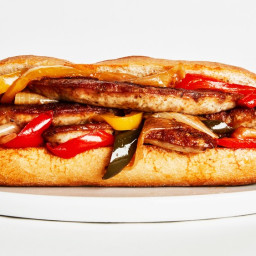 Sausage, Peppers, and Onions Subs