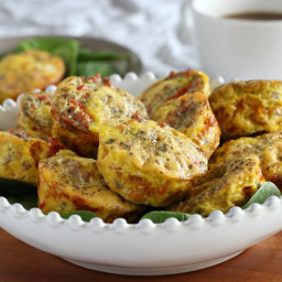 Sausage Pizza Egg Muffins {Paleo and Whole30}