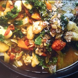 One Pot Sausage Ribollita