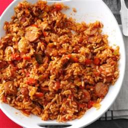 Sausage Spanish Rice Recipe
