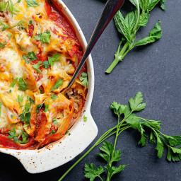 Sausage Stuffed Shells Recipe