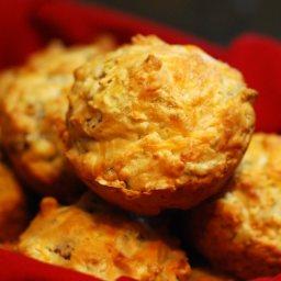 Sausage-swiss Muffins