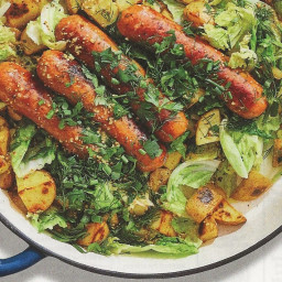 Sausage w/Potatoes & Buttered Cabbage