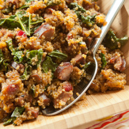 Sausage and Quinoa One-Pot Supper