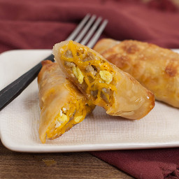 Sausage, Egg & Cheese Breakfast Rolls