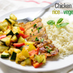 Sauted Chicken Breast with Vegetables