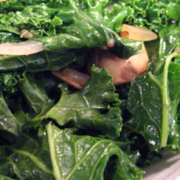 Sautéed Kale and Vegetables