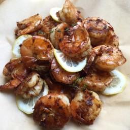 Sautéed Peel and Eat Shrimp