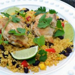 Sautéed Chicken with Fiesta Quinoa