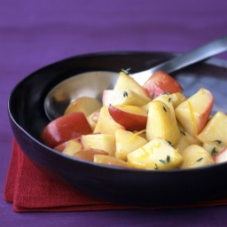 Sauteed Apples with Thyme
