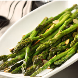 Sautéed Asparagus with Toasted Almonds