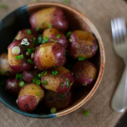 Sautéed Baby Red Potatoes