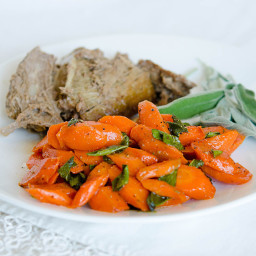 Sauteed Carrots with Sage