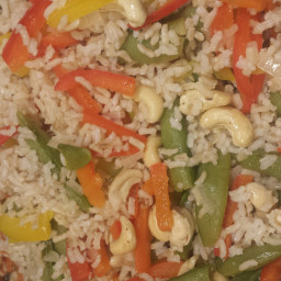 Sauteed Cashew Peppers