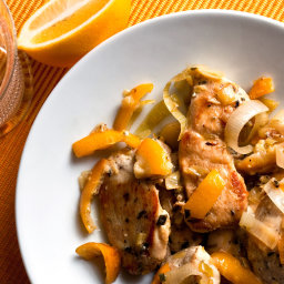 Sautéed Chicken With Meyer Lemon