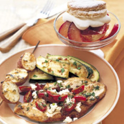 Sauteed Chicken with Tomatoes, Olives, and Feta