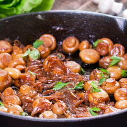 Sauteed Mushrooms & Onions