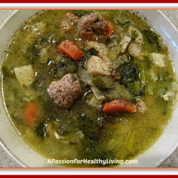 Sauteed Sausage and Chicken Vegetable Soup! A Gluten Free/Grain Free Recipe