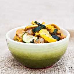 Sauteed Zucchini and Yellow Summer Squash