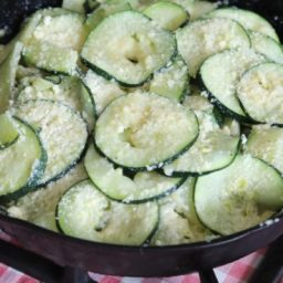 Sauteed Zucchini With Parmesan Cheese