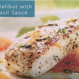 Sauteed Halibut With Citrus-basil Sauce