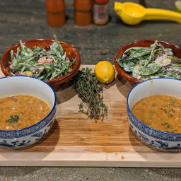 Savory Barley Soup With Wild Mushrooms & Thyme