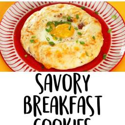 Savory Breakfast Cookies