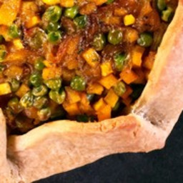 Savory Butternut Squash and Sage Galette