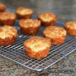 Savory Cheddar Cheese Cornbread Muffins