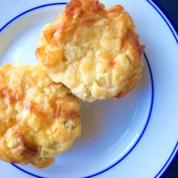 Savory Corn Pudding Muffins