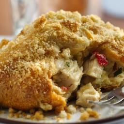 Savory Crescent Chicken Squares