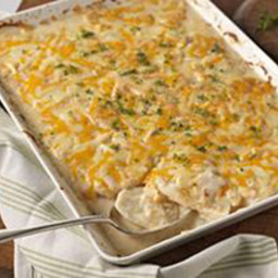 Savory Garlic Scalloped Potatoes