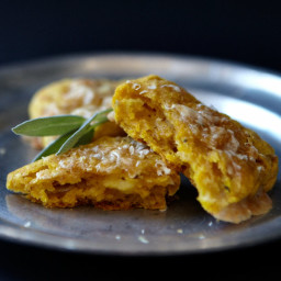 Savory Pumpkin Scones with Gruyère and Sage