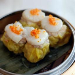 Savory Siu Mai Dumplings with Pork and Shrimp