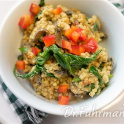 Savory Steel Cut Oats