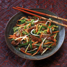 Savory Stir-Fry Beef with Oyster Sauce
