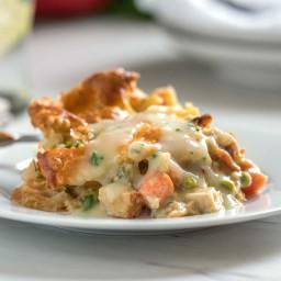 Savory Turkey Pot Pie Casserole