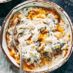Savory Whole30 Butternut Chicken Breakfast Bowl