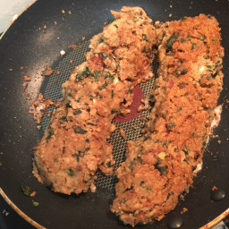 Savoury Bean Fritters