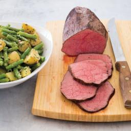 SC Roast Beef with Warm Garden Potato Salad