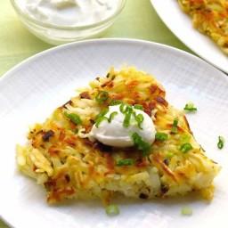 Scallion Potato Cake