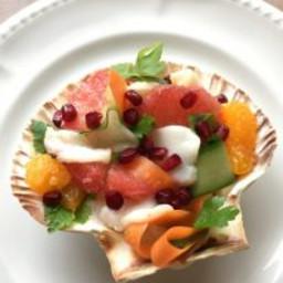 Scallop Ceviche with Citrus Salad