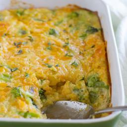 Scalloped Corn and Broccoli