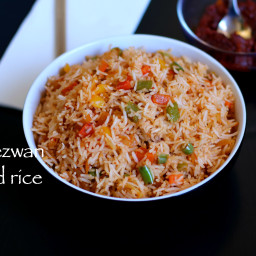 schezwan fried rice | easy homemade schezuan fried rice