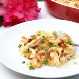 Schwäbische Käsespätzle (German Macaroni and Cheese)