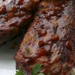 Scott Hibb's Amazing Whisky Grilled Baby Back Ribs Recipe