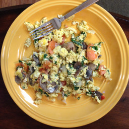 Scrambled Eggs and Veggies