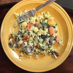 Scrambled Eggs and Veggies
