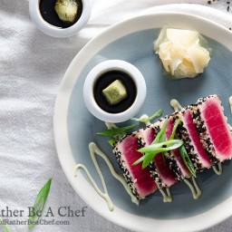 Seared Ahi Tuna Recipe