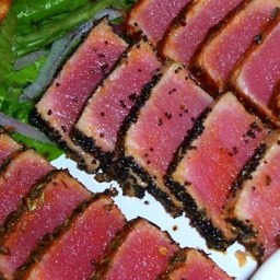 Seared Ahi Tuna Steaks